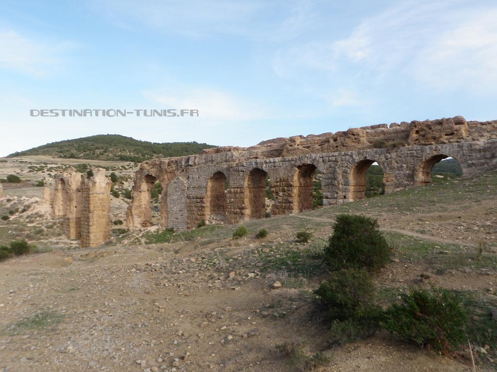L'aqueduc de Bent Saïndane
