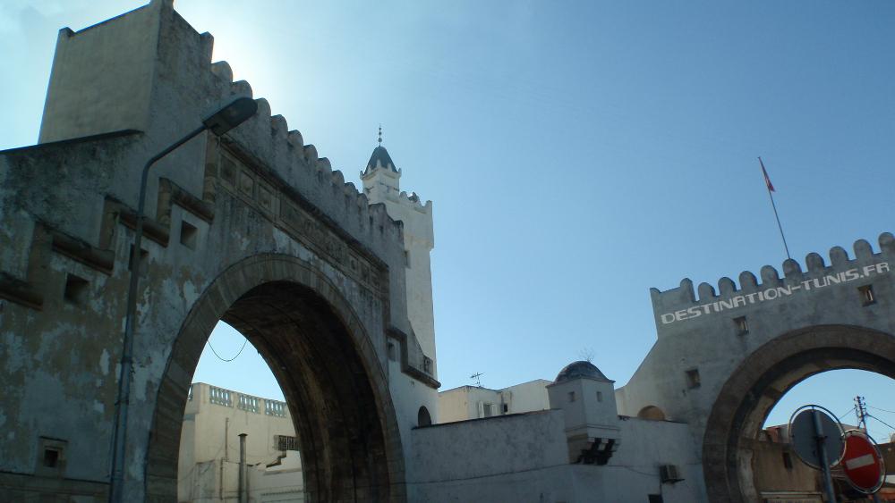 Les arches de Bab el Khadra.