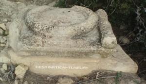 Des vestiges témoignant de l'occupation romaine du secteur