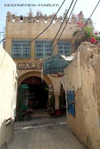 L'entrée du café el Kasbah