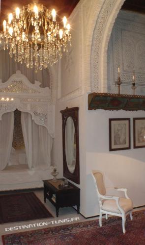 Une des chambres de Dar Announ