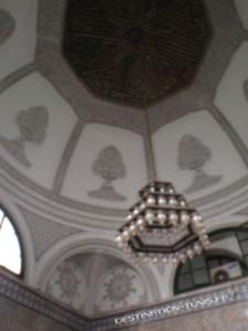 Coupole de la 1ère salle du mausolée.