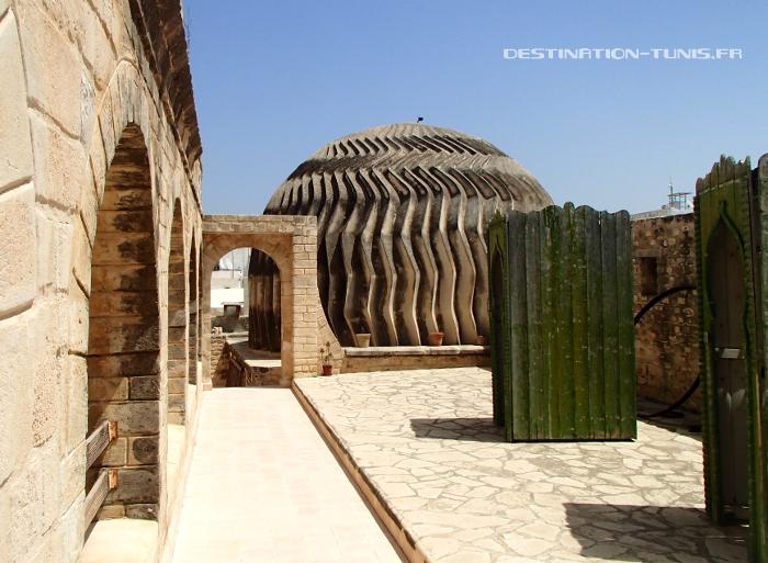 La coupole du musée el Kobba dans la médina de Sousse