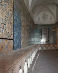 Driba de l'entrée de Bir Lahjar et dokenia (bancs)