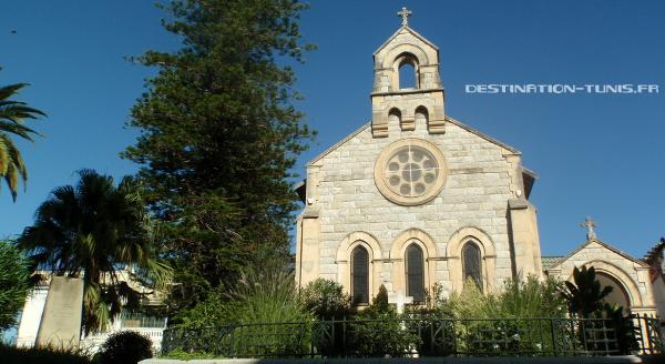 L'église anglicane Saint George de Tunis
