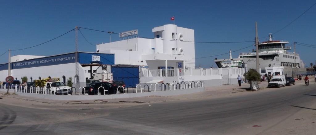 Embarcadère du bac Sfax - Kerkennah