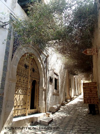 Le jasmin de l'entrée de Dar Essid, dans la médina de Sousse