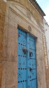 Entrée du mausolée de Sidi Ali Azouz.