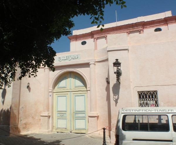 Entrée du palais Khaznadar