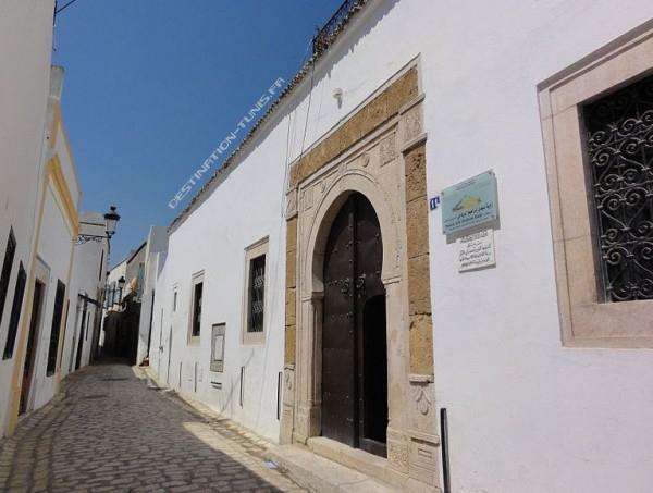 L'entrée de la zaouia.