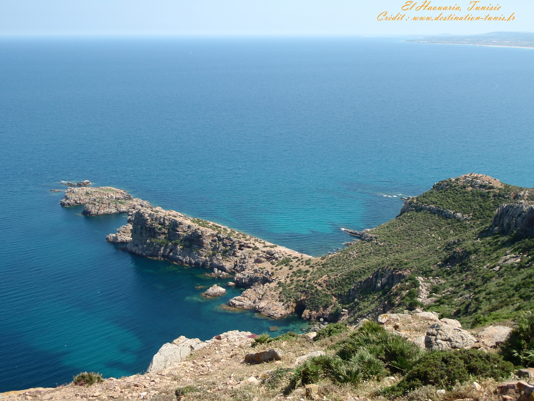 Fonds d'écran Mer et Plages Mer El Haouaria Tunisie