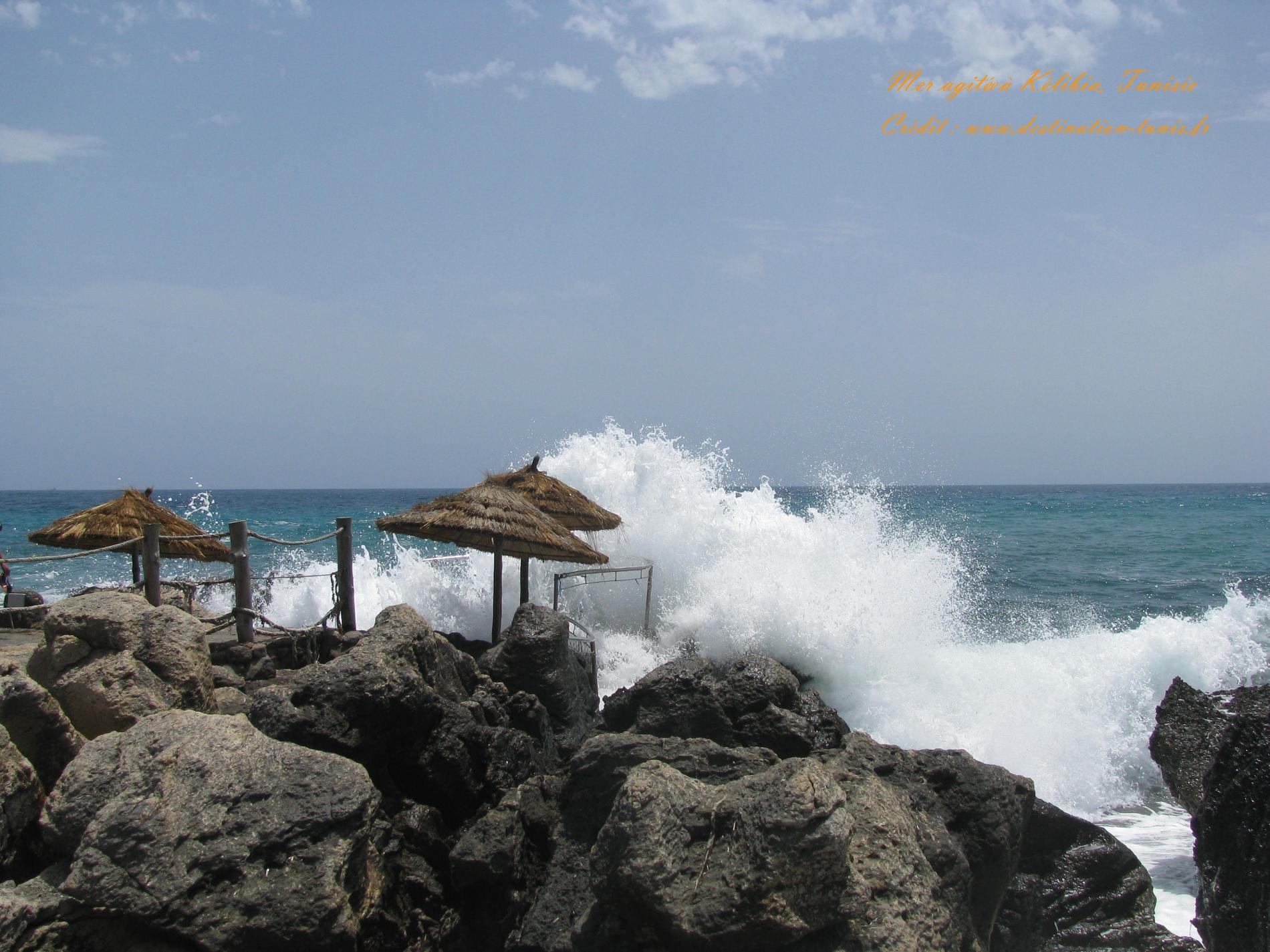 Fonds d'écran Mer et Plages Mer Kélibia Tunisie