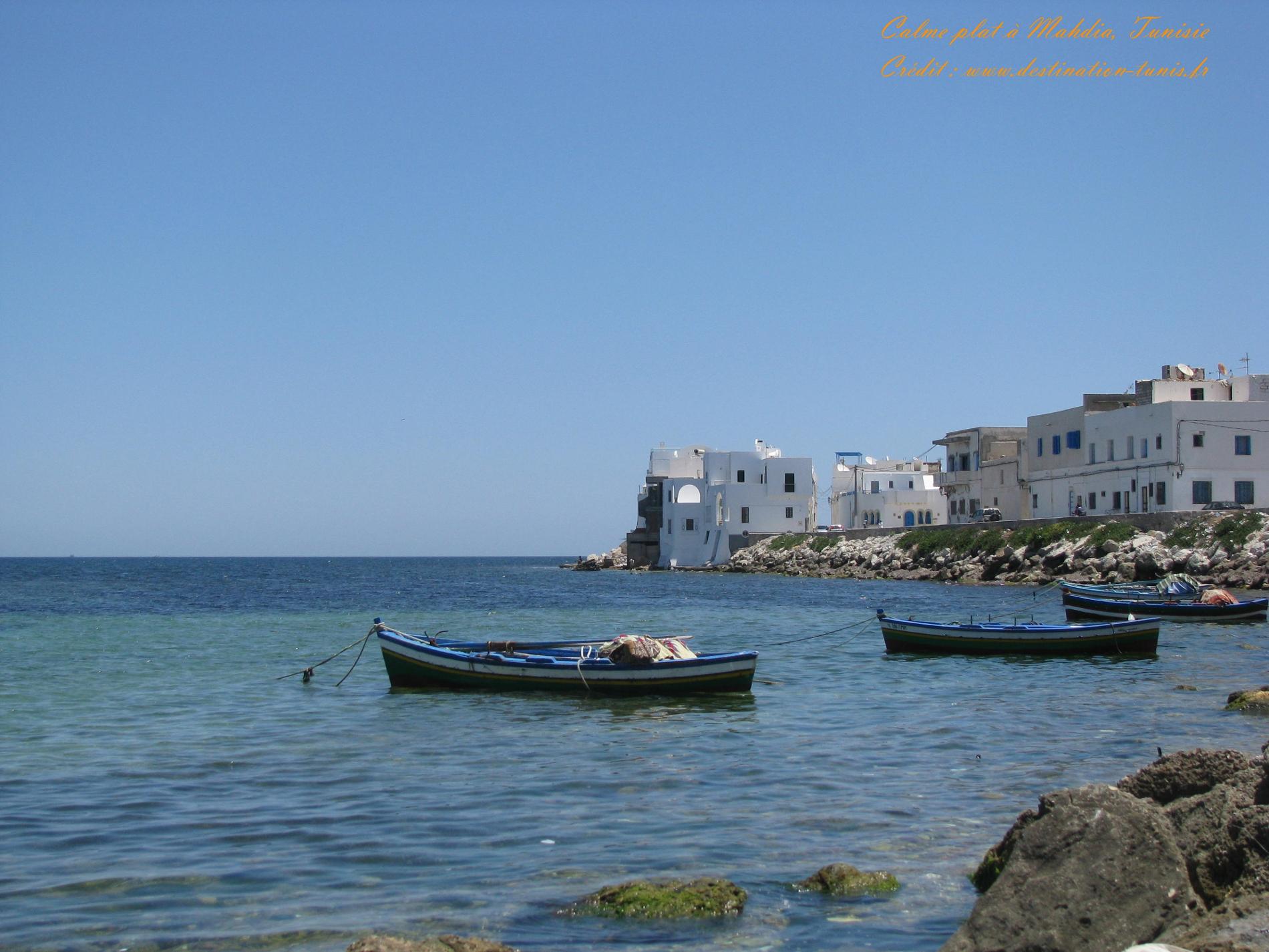 Fonds d'écran Mer et Plages Mer Mahdia Tunisie