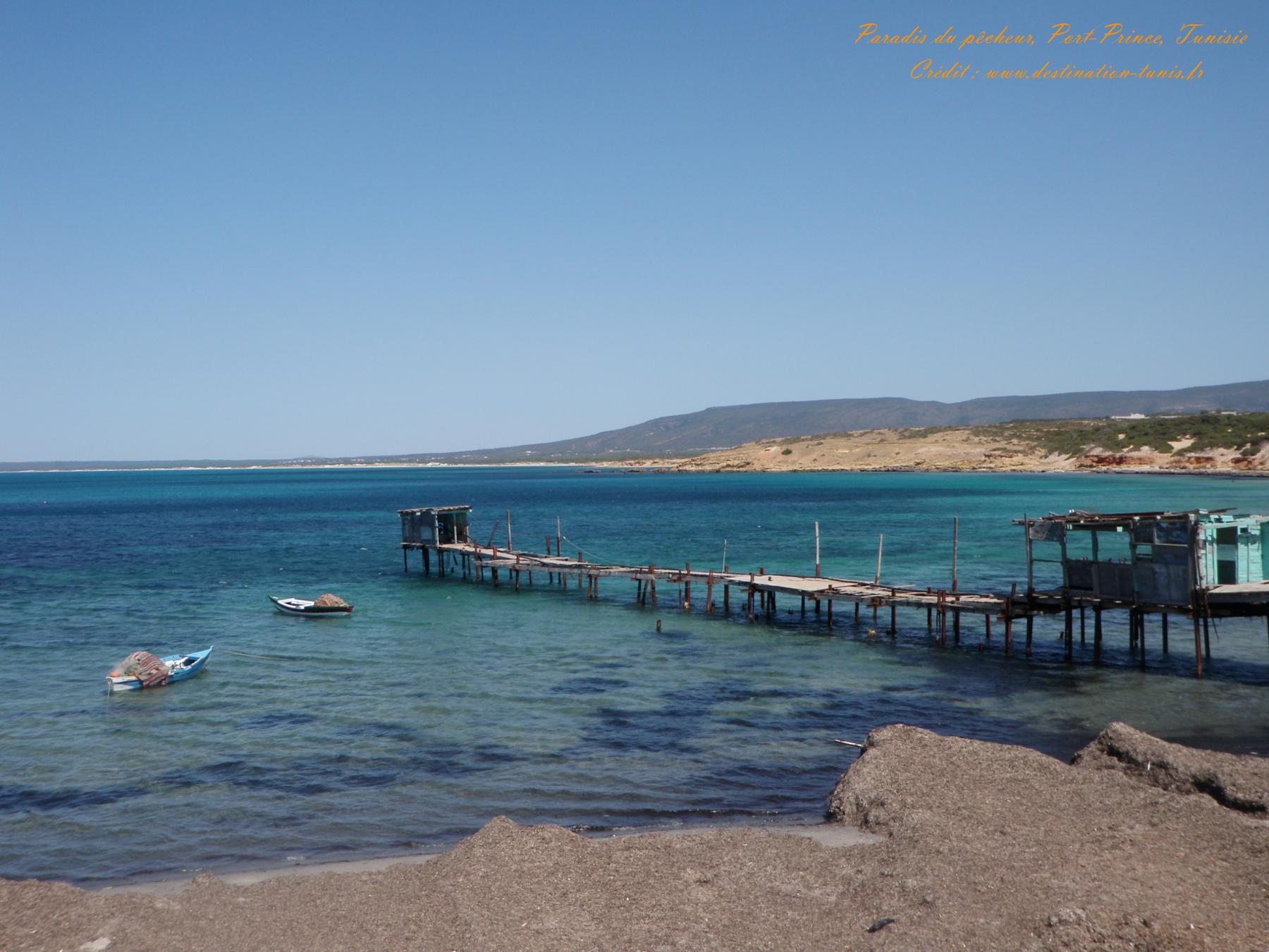 Fonds d'écran Mer et Plages Port Prince Ras Fartass Tunisie