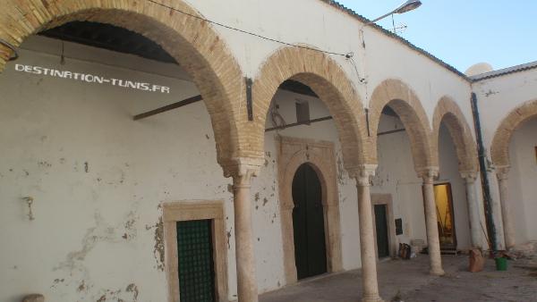 Galerie de la zaouia el Halfaoui.
