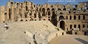 Gradins amphitheatre el Jem