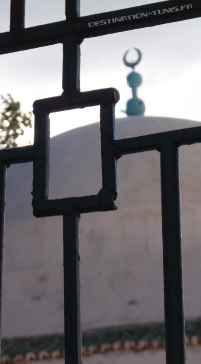La grille du mausolée
