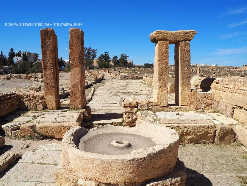 Huilerie romaine à Sbeïtla