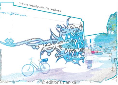 Illustration d'un article sur le nouveau street-art tunisien