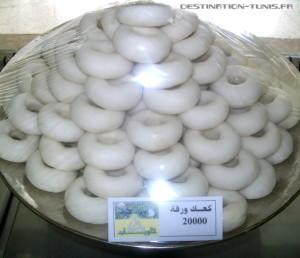 Les fameux kaak warka de Zaghouan