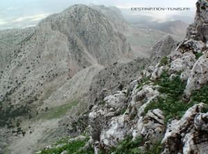 Rando sur le grand pic du Djebel Zaghouan (face Nord-Ouest)