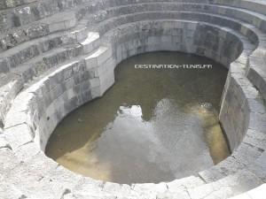 Grand Bassin où étaient récoltées les eaux du Temple des Eaux