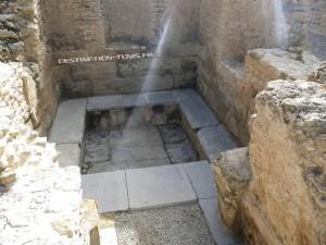 Le petit temple de Zaghouan