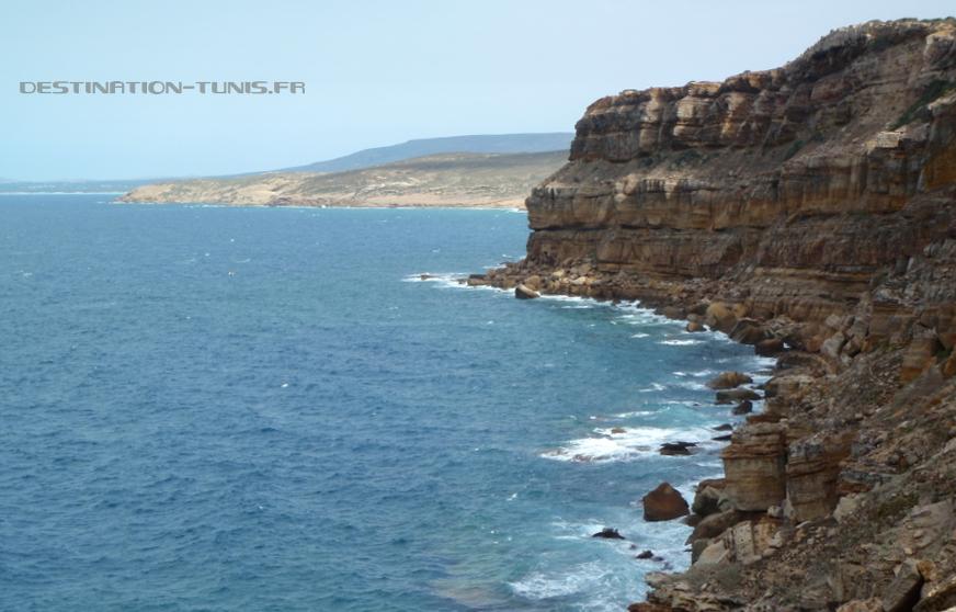 Les falaises du Ras Fartas