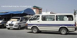 Louage bleu Tunisie