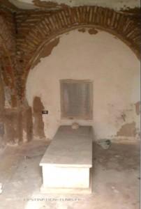 La salle abritant le mausolée