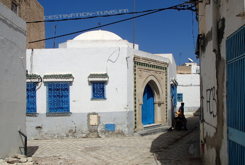 Le mausolée de Sidi Bouraoui