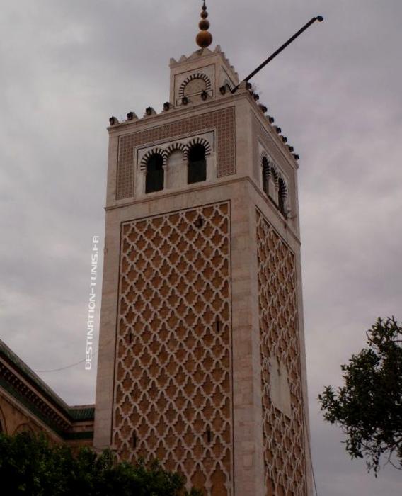 Minaret de la mosquée de la Kasbah