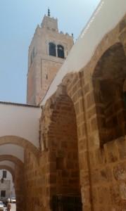 Vue sur le minaret