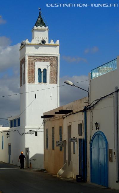 Le minaret de la mosquée