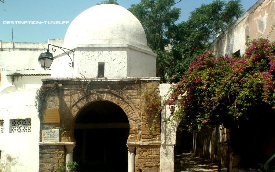 Mosquée où Ibn Khaldoun suivait ses études
