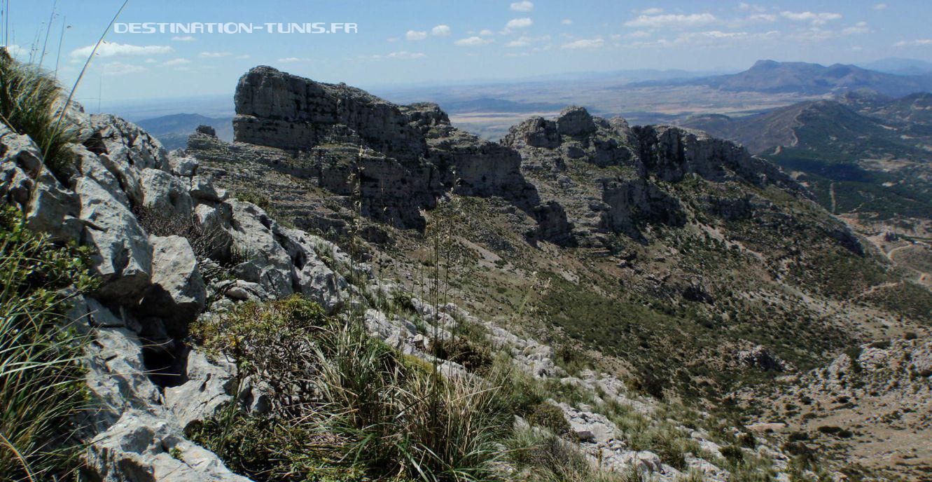 La vallée de Sidi Medien, au niveau des anciennes mines