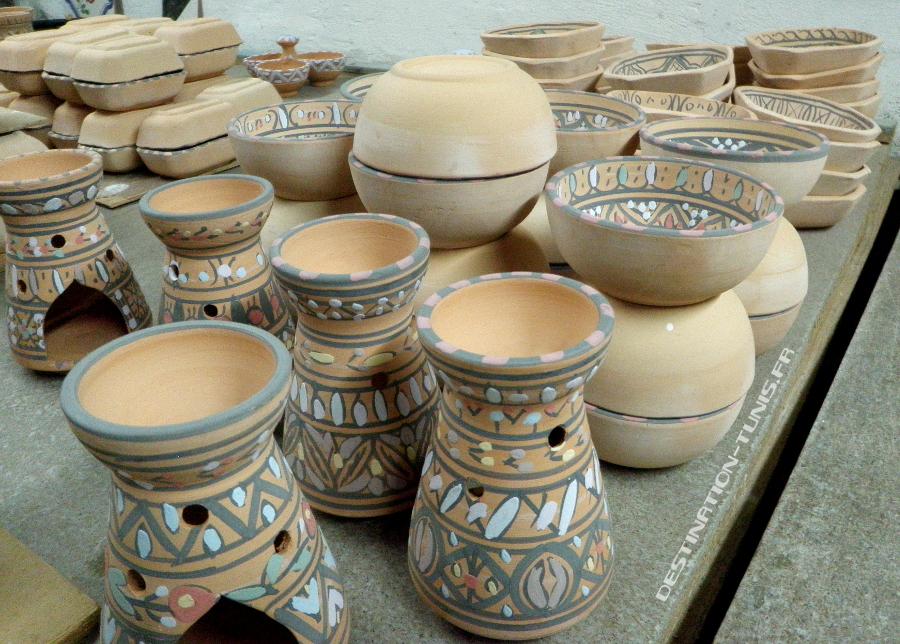 Atelier de céramique : parfumoir