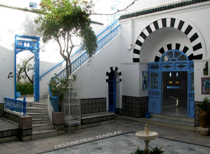 Le patio de Dar el Annabi