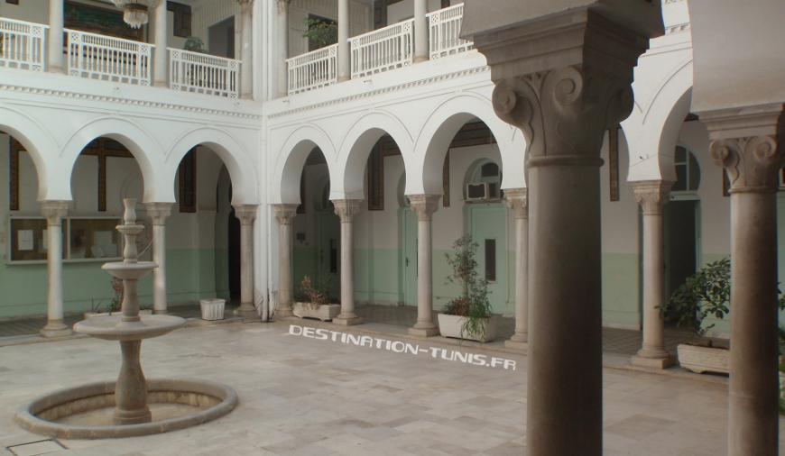 Patio du Ministère des Affaires Religieuses.