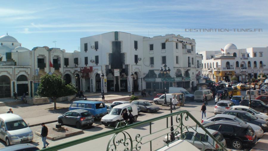 La place Bab Souika actuellement.
