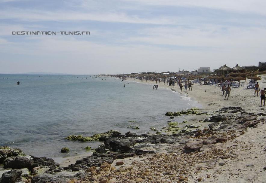La plage de Ghar el Melh