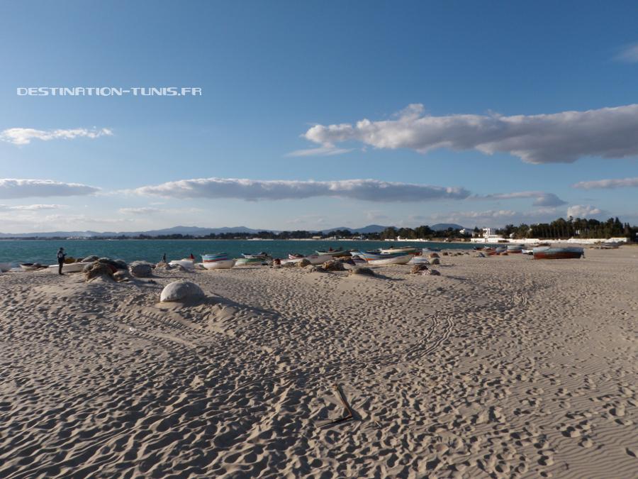 La plage d'Hammamet