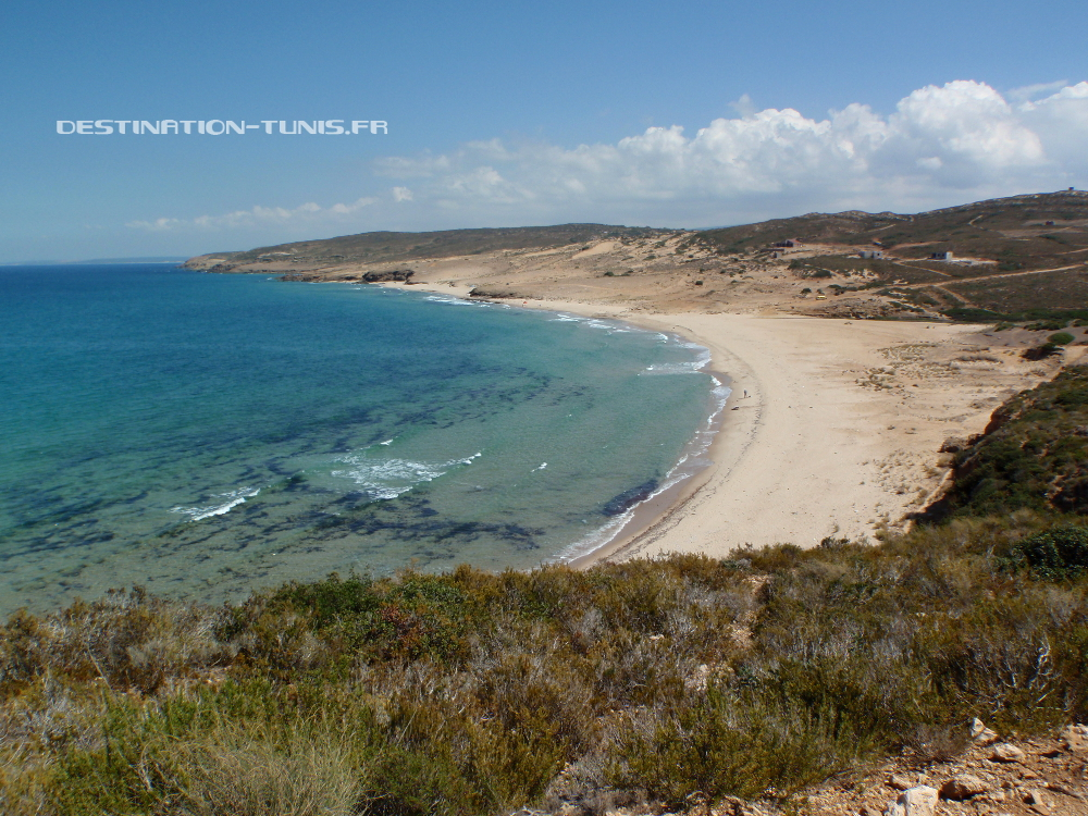 La plage de El Mnagaa