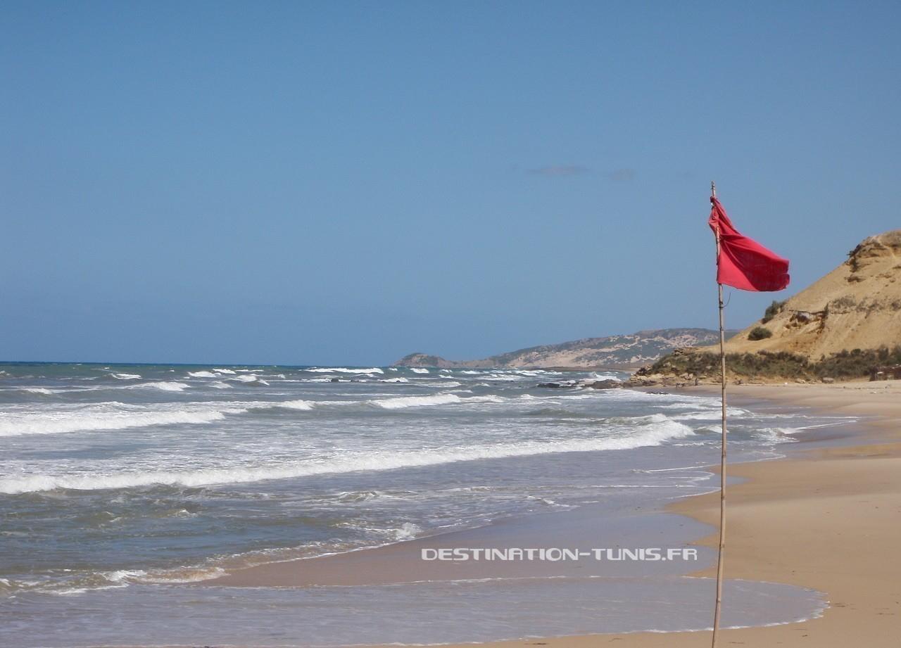 La plage de Sidi Mansour