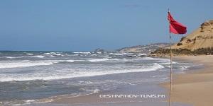 Une des plages sauvages, celle de Sidi Mansour, entre Bizerte et Tabarka