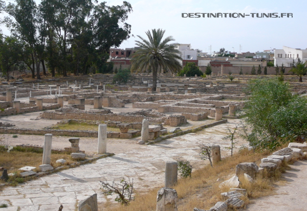 Quartier d'habitations romaines d'El Jem