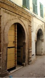 Porte d'entrée monumentale de Dar Jellouli