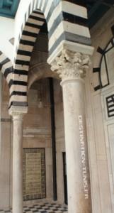 Colonnes et portiques à Dar Daouletli.