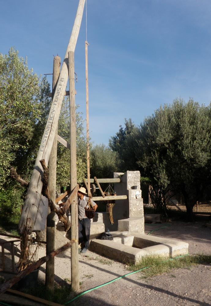 Le puits de l'écoferme de Mornag