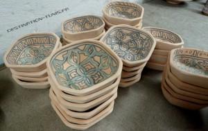 Atelier de céramique : ramequins